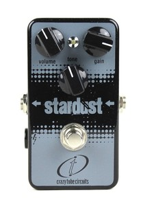 Pédale overdrive / distortion / fuzz Crazy tube circuit BLACKFACE STARDUST