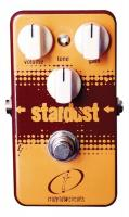 Pédale overdrive / distortion / fuzz Crazy tube circuit STARDUST