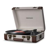 Platines vinyles hifi Crosley Executive Linnen/ brown