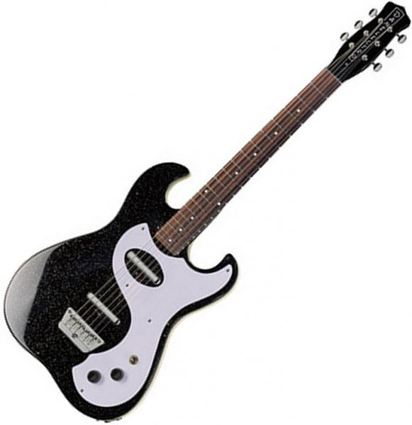 Guitare électrique hollow body Danelectro '63 Dano - black