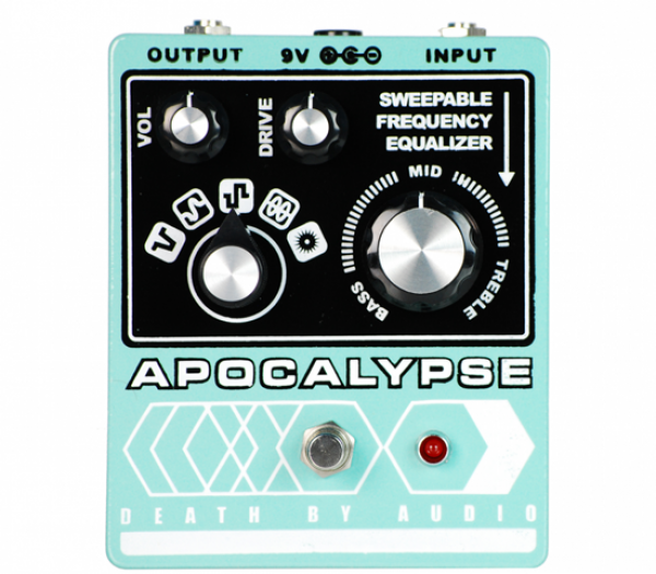 Pédale overdrive / distortion / fuzz Death by audio Apocalypse Fuzz
