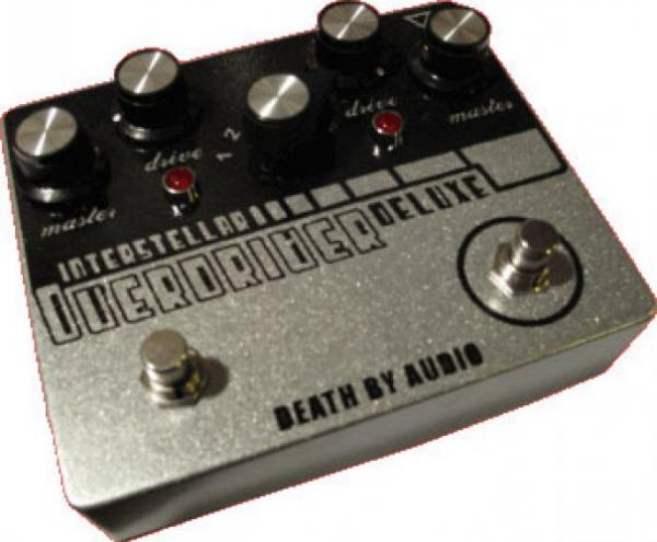 Pédale overdrive / distortion / fuzz Death by audio Interstellar Overdrive Deluxe