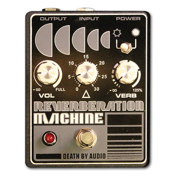 Pédale reverb / delay / echo Death by audio Reverberation Machine