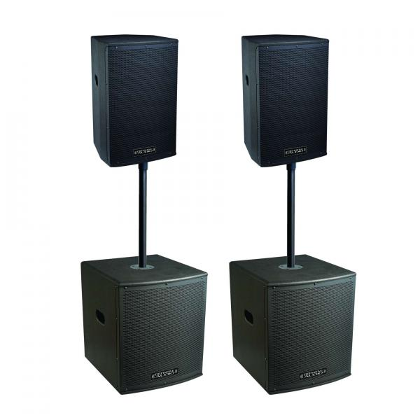Pack sonorisation Definitive audio Koala Neo 3800 Quad