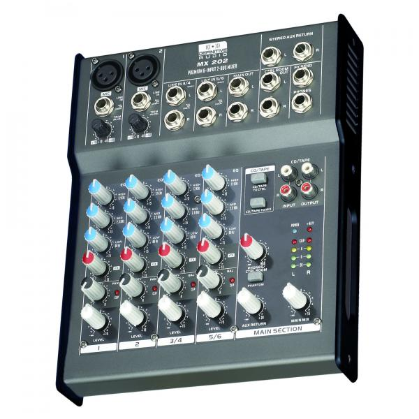 Table de mixage analogique Definitive audio MX202