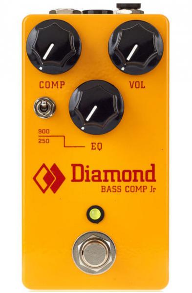 Pédale compression / sustain / noise gate Diamond BCP1 Bass Comp Jr