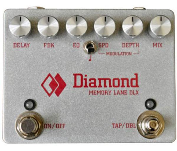Pédale reverb / delay / echo Diamond Memory Lane Deluxe Delay