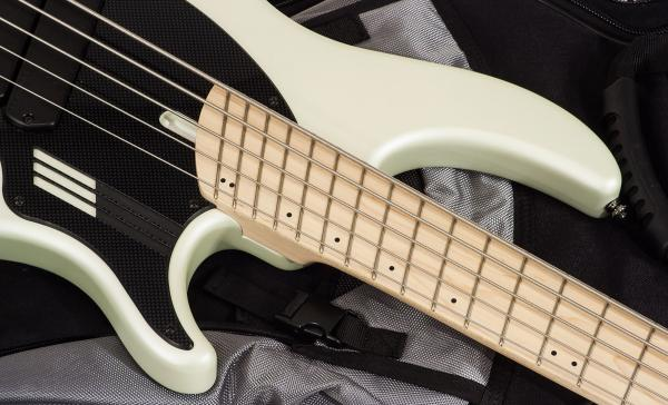 Basse électrique solid body Dingwall Adam Nolly Getgood NG2 5 2-Pickups - ducati pearl white matte