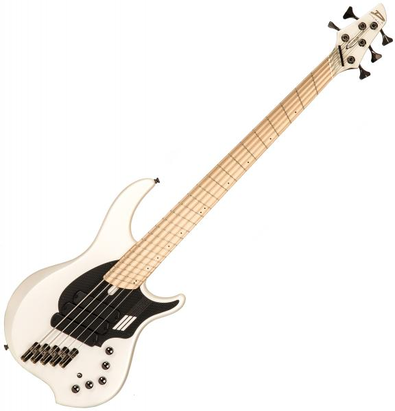 Basse électrique solid body Dingwall Adam Nolly Getgood NG3 5 3-Pickups - ducati pearl white