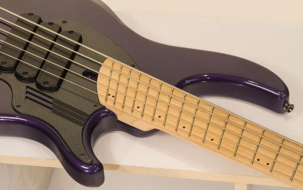 Basse électrique solid body Dingwall Adam Nolly Getgood NG3 5 3-Pickups - purple metallic