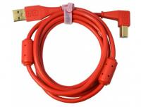 Câble Dj tech tools Chroma Cable USB Red (angled)