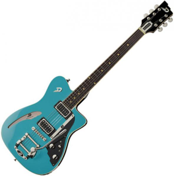 Guitare électrique solid body Duesenberg Caribou - Narvik blue