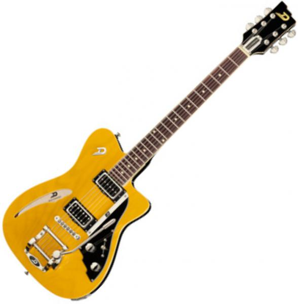Guitare électrique solid body Duesenberg Caribou - Butterscotch blonde