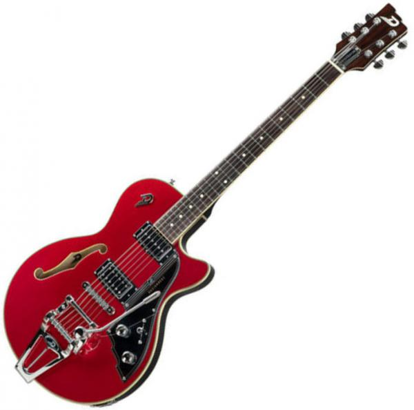 Guitare électrique hollow body Duesenberg Starplayer III - catalina red