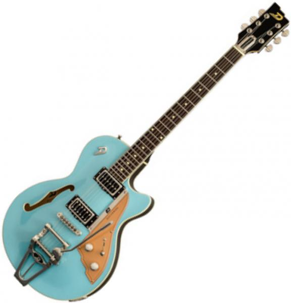 Guitare électrique 1/2 caisse Duesenberg Starplayer TV - Narvik blue