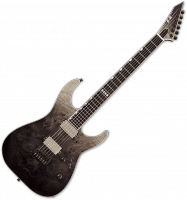 Guitare électrique solid body Esp E-II M-II NT - Black natural fade