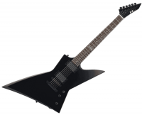 Guitare électrique solid body E-ii EX (EMG) - Black