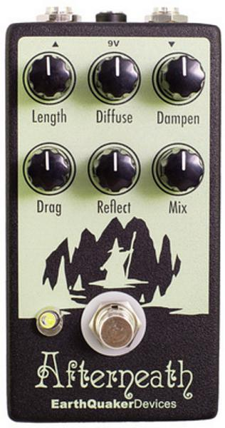 Pédale reverb / delay / echo Earthquaker Afterneath Reverb V2
