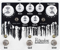 Pédale overdrive / distortion / fuzz Earthquaker Palisades V2