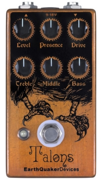 Pédale overdrive / distortion / fuzz Earthquaker Talons Overdrive