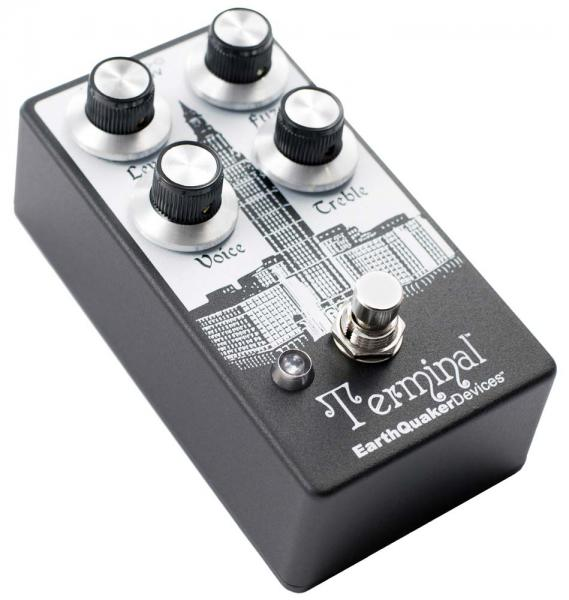 Pédale overdrive / distortion / fuzz Earthquaker Terminal Destructive Fuzz Device V2