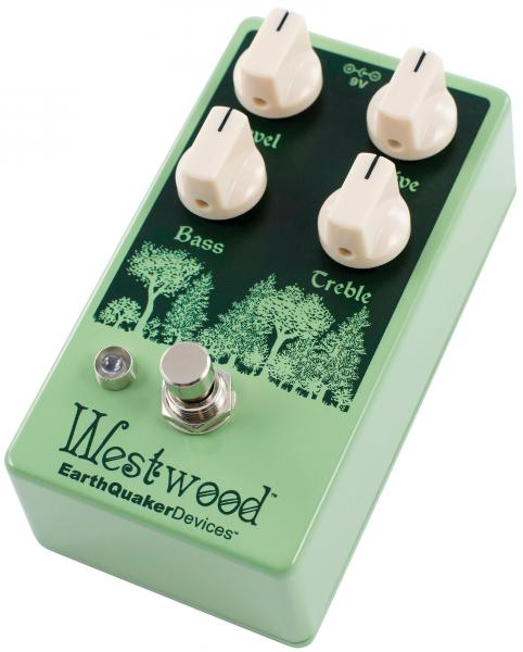 Pédale overdrive / distortion / fuzz Earthquaker Westwood