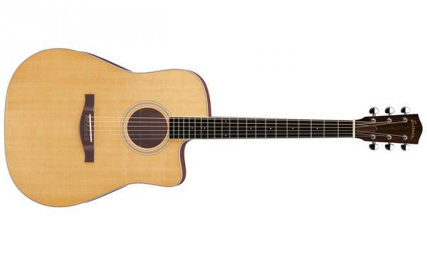 Guitare folk Eastman AC320CE +Etui - natural gloss - Star ...
