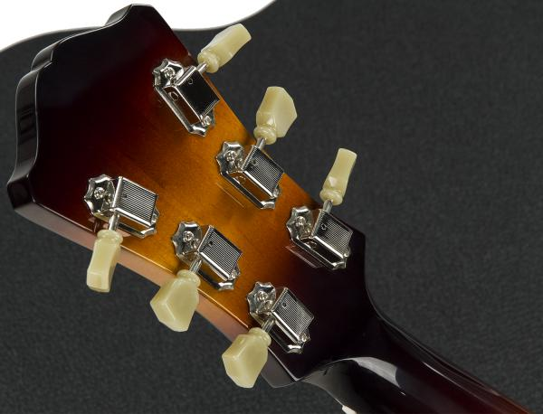 Guitare électrique hollow body Eastman AR372CE Archtop - sunburst