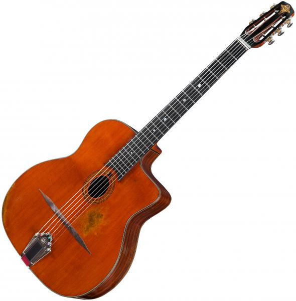 Guitare manouche Eastman DM2/v Gypsy Jazz - vintage natural