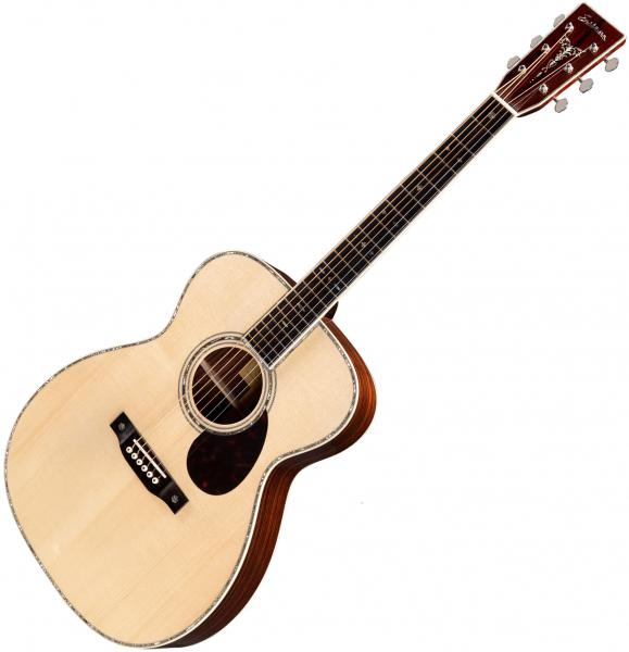 Guitare folk & electro Eastman E40OM Traditional - Natural