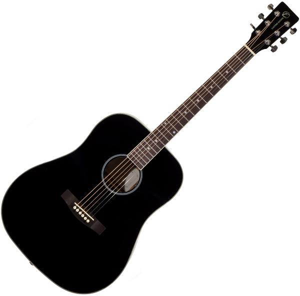 Guitare folk & electro Eastone DR100-BLK - Black