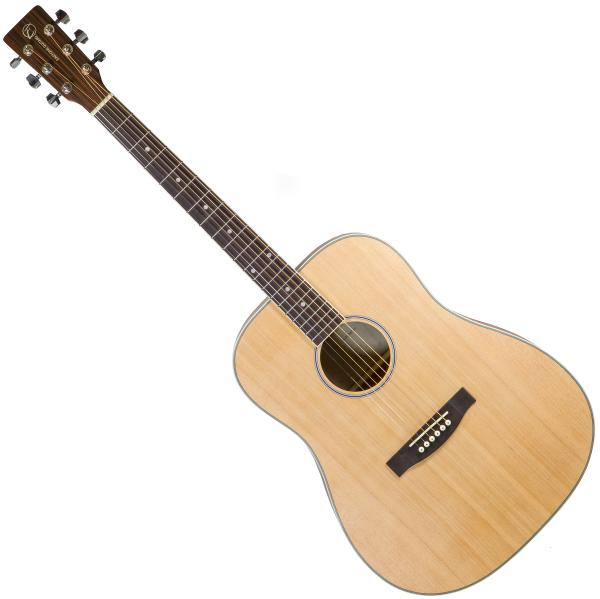 Guitare folk & electro Eastone DR100-NAT Gaucher - Natural satin