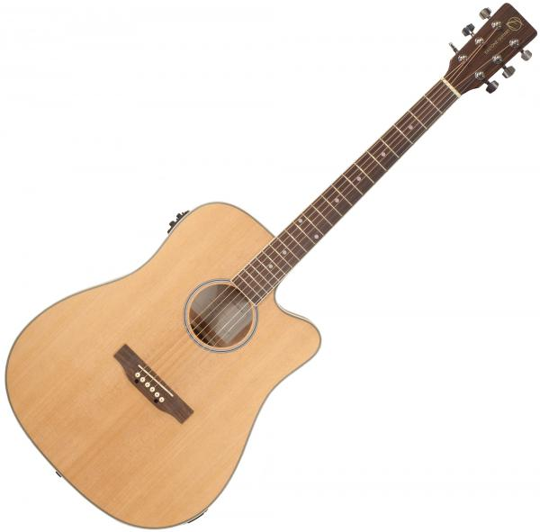 Guitare folk & electro Eastone DR160CE-NAT - Natural