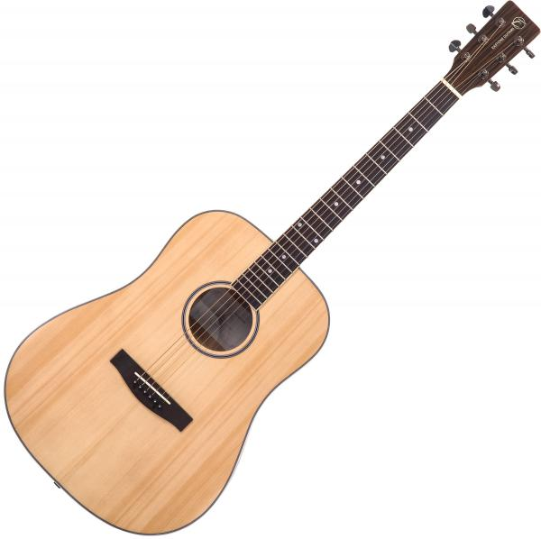 Guitare folk & electro Eastone DR260-NAT - Natural