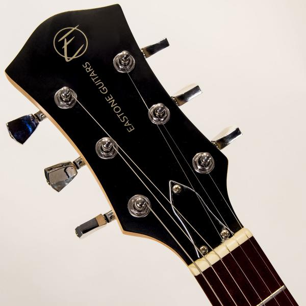 Guitare électrique solid body Eastone LPL70 - black satin