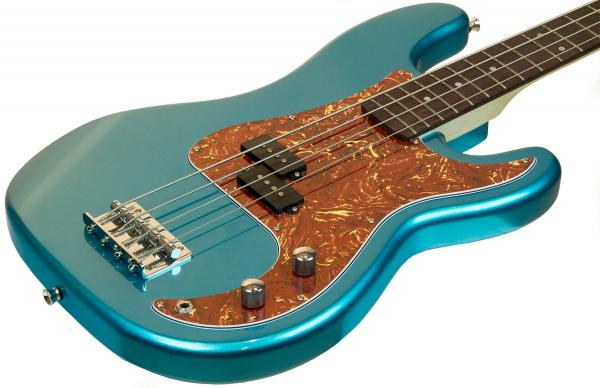 Basse électrique solid body Eastone PRB (PUR) - metallic light blue