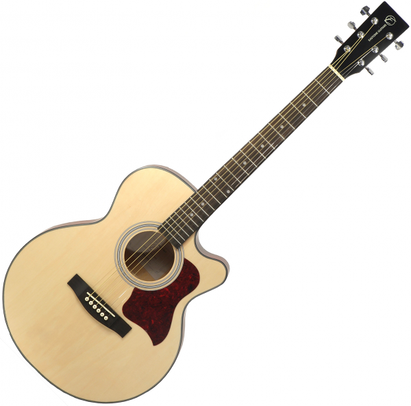 Guitare folk & electro Eastone SB20C-NAT - Natural matte