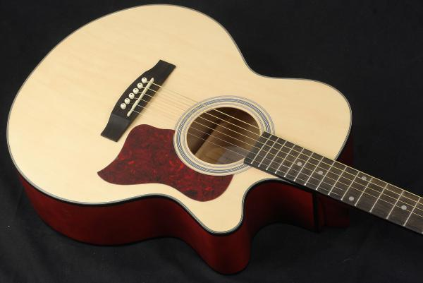 Guitare folk Eastone SB20C-NAT +X-Tone 2002 Bag Pack - natural matte