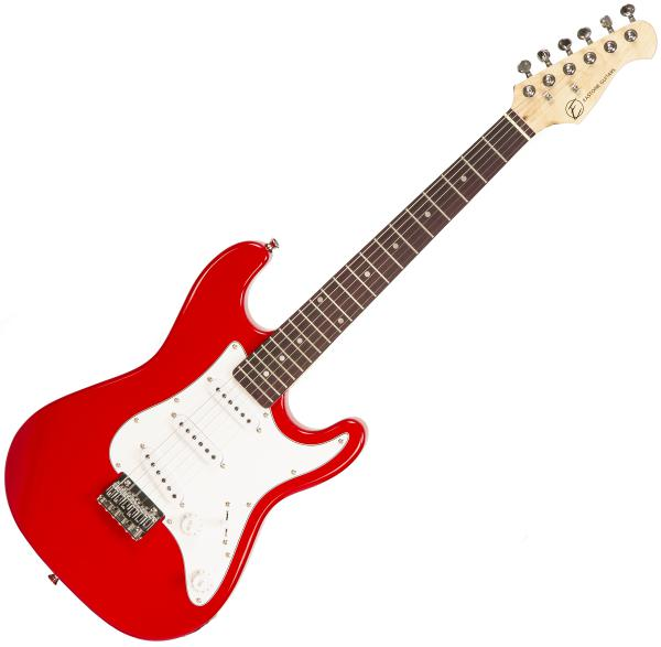 Guitare électrique solid body Eastone STR Mini - Red