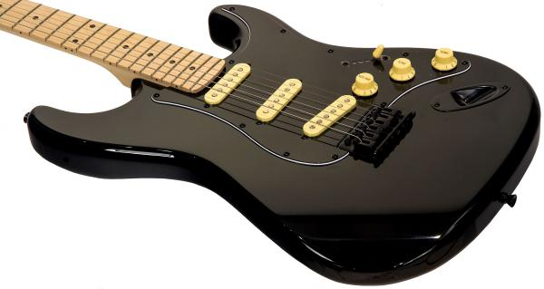 Guitare électrique solid body Eastone STR70 GIL (MN) - black