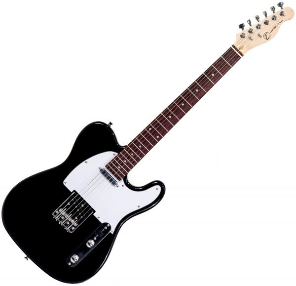 Guitare électrique solid body Eastone TL70 (PUR) - black