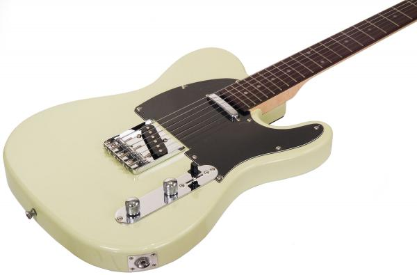 Guitare électrique solid body Eastone TL70 (RW) - ivory