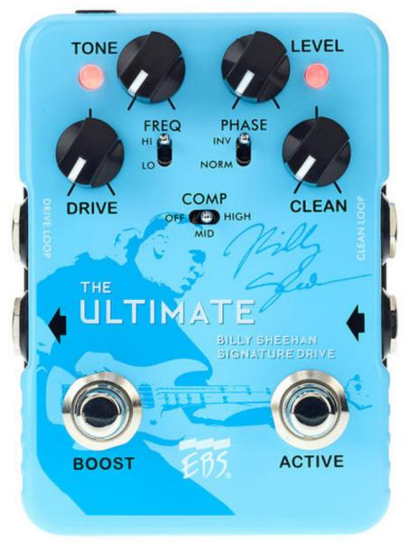 Pédale overdrive / distortion / fuzz Ebs                            Billy Sheehan Ultimate Signature Drive