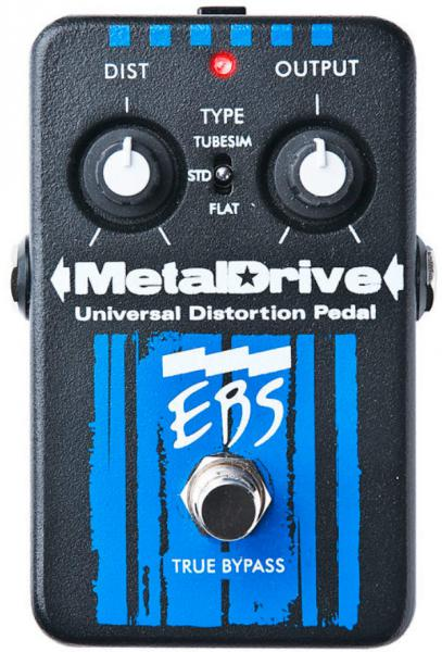 Pédale overdrive / distortion / fuzz Ebs                            MetalDrive
