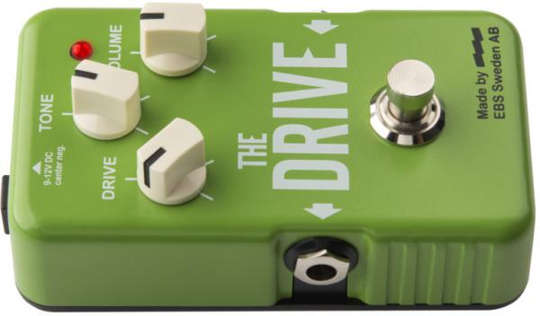 Pédale overdrive / distortion / fuzz Ebs                            Blue Label The Drive Boost / Overdrive