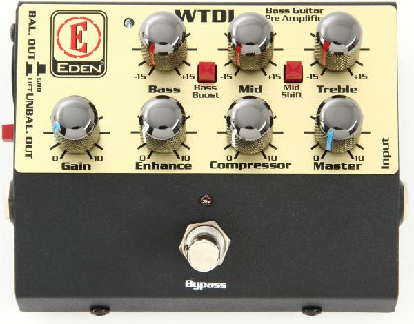 image WTDI Bass Guitar Pre Amplifier