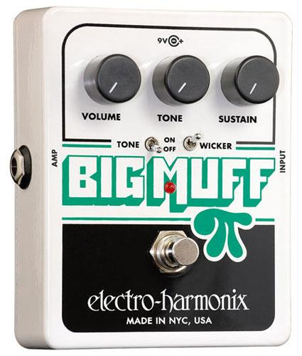 Pédale overdrive / distortion / fuzz Electro harmonix Big Muff Pi With Tone Wicker
