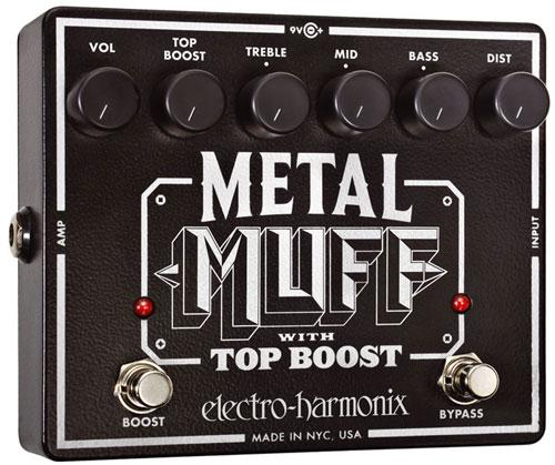 Pédale overdrive / distortion / fuzz Electro harmonix Metal Muff
