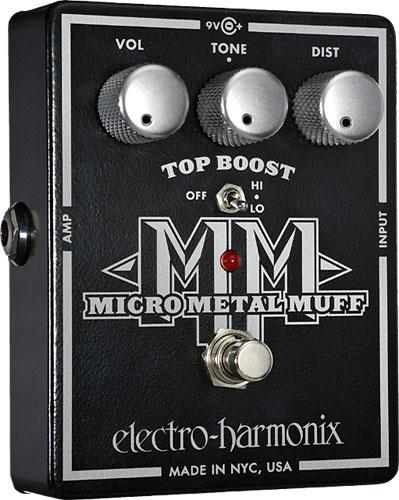 Pédale overdrive / distortion / fuzz Electro harmonix Micro Metal Muff