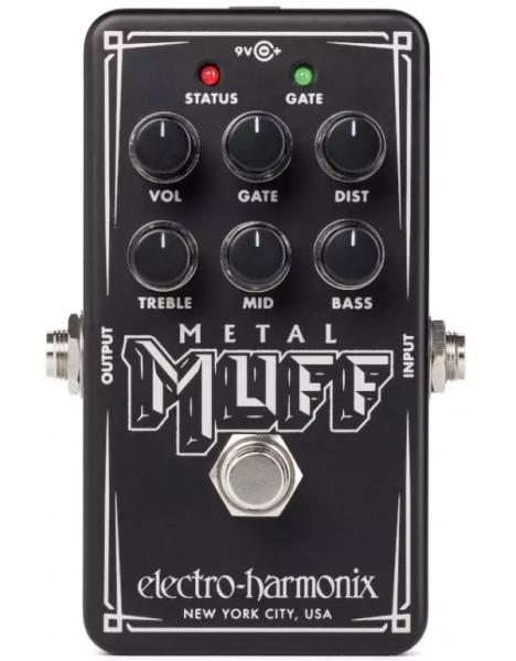 Pédale overdrive / distortion / fuzz Electro harmonix Nano Metal Muff Distortion